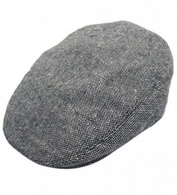 Jaxon Marl Tweed Ivy Cap - Black - C61147VNBE7