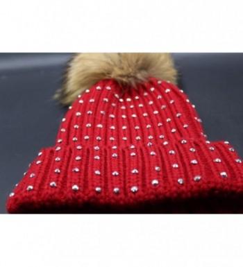 Binmer TM Winter Crochet Knitted in Women's Skullies & Beanies
