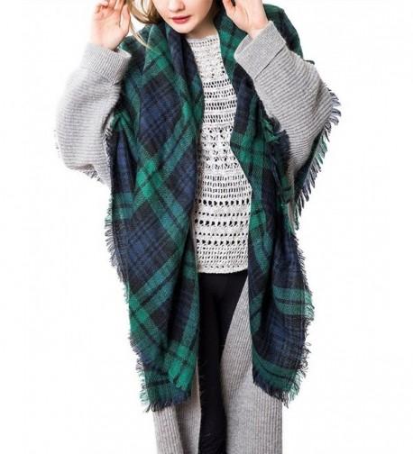 Zando Womens Stylish Blanket Tartan