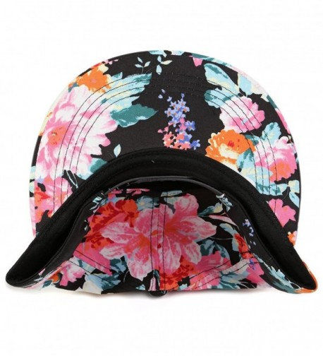 FunkyJunque H 30110 06 Floral Flat Snapback in Women's Baseball Caps