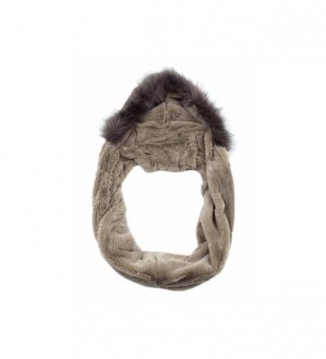 Fur Snood/Hat - Cream - CE1884IMTUM