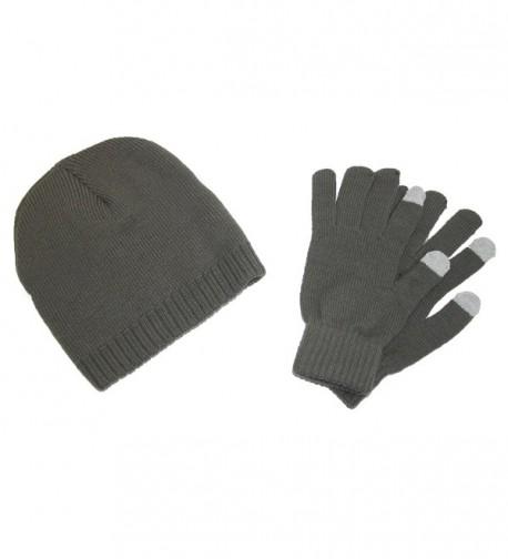 CTM Beanie Screen Gloves Winter in Men's Skullies & Beanies