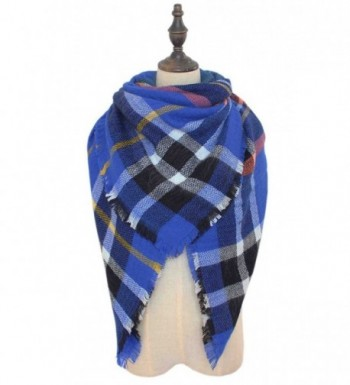 Fashion Womens Winter Plaid Blanket
