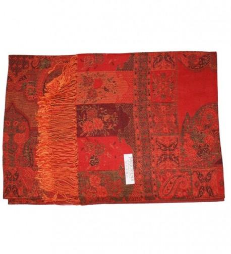 Ted Jack Tapestry Reversible Pashmina in Wraps & Pashminas