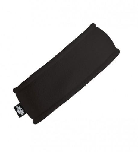 Turtle Fur Double-Layer Headband- Chelonia 150 Fleece - Black - CZ1155V5I03