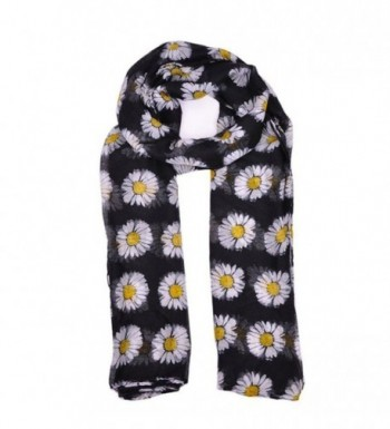 GBSELL Womens Daisy Flower Scarves