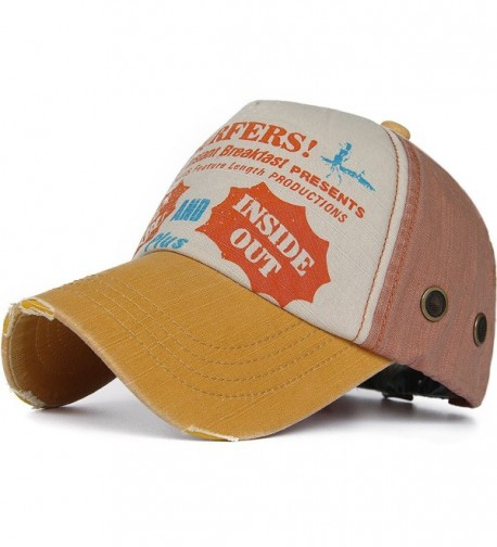 Rayna Fashion Unisex Vintage Trendy Baseball Cap Trucker Hat Golf Travel Hip Hop - Color3 - C917YHSUA4Q