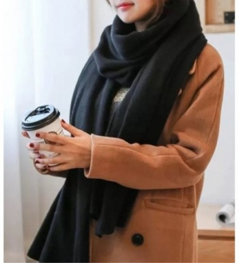 Womens Blanket Scarf Solid Color in Fashion Scarves