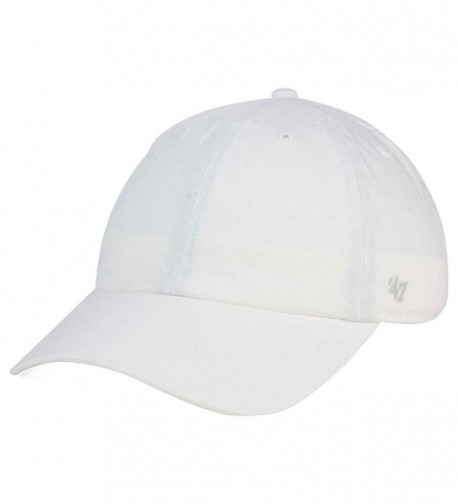 '47 Brand Clean Up Blank Dad Hat - One Size - White - CG1825N365I