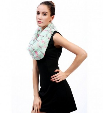 Lina Lily Flamingo Womens Infinity