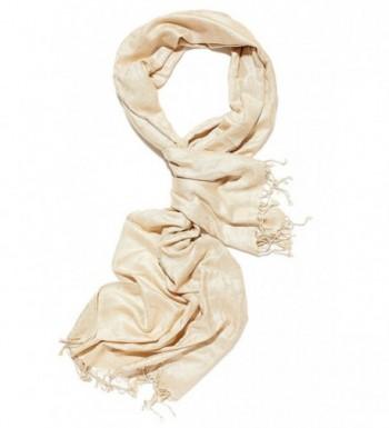 Ladies Cotton Scarf For Evening Dress Glittering Shawls Dressy Scarves For Women - honey gold - CA12N3XTMU4