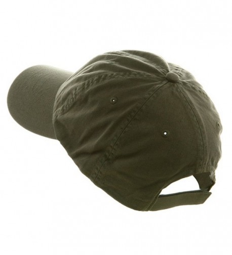 Profile Velcro Adjustable Cotton Olive One