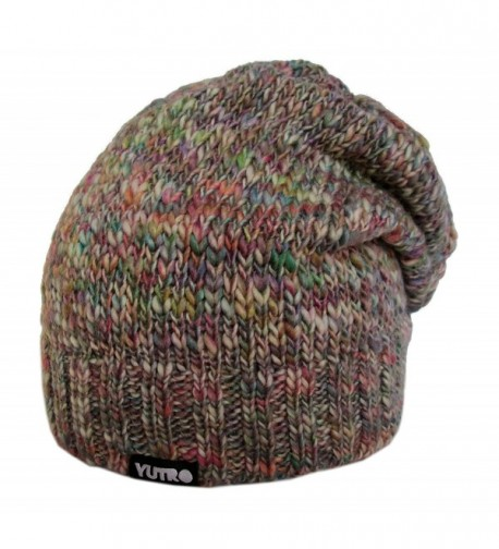 YUTRO Fashion Slouchy Knitted MULTICOLOR