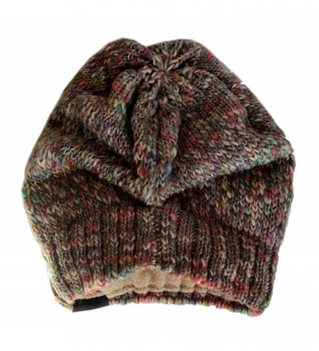 YUTRO Fashion Slouchy Knitted MULTICOLOR in Women's Skullies & Beanies
