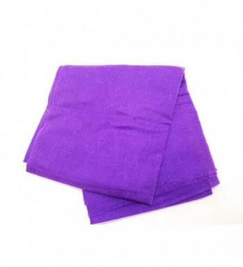 Cashmere Lightweight Scarf Natural Violet