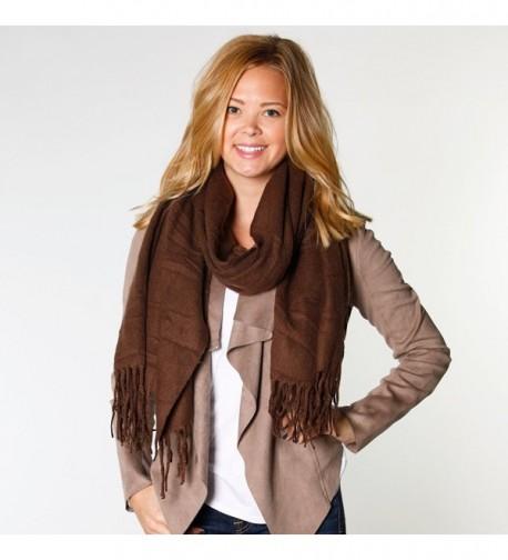 Fringe Womens Fashion Blanket Scarves