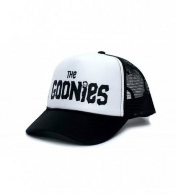 Goonies Unisex-Adult One-Size Black/White Trucker Hat - CT11VRX3EK9