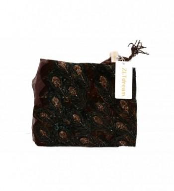 ZLTdream Womens Trangular Velvet Coffee in Fashion Scarves