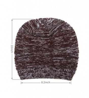 GONG Winter Beanie Slouchy Knitting in Men's Skullies & Beanies