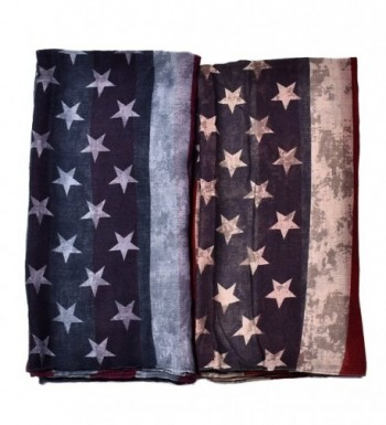 Promini Fashion Lightweight American Printed in Fashion Scarves
