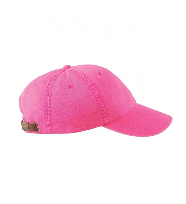 Woman's Monogrammed/Personalized Hot Pink Baseball Cap - CY12NSKWWIU