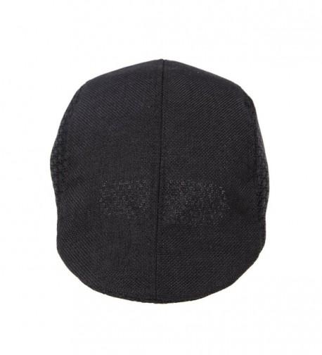 JTC Mesh Cotton Ivy Cap Driver Hat 4 Colors - Black - CV11KVI1N8V