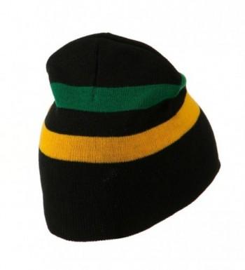 Rasta Beanie Jamaica Multicolor One size in Men's Skullies & Beanies