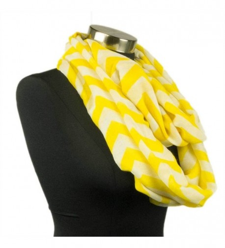 Adorox Pattern Fashion Chevron Infinity in Fashion Scarves
