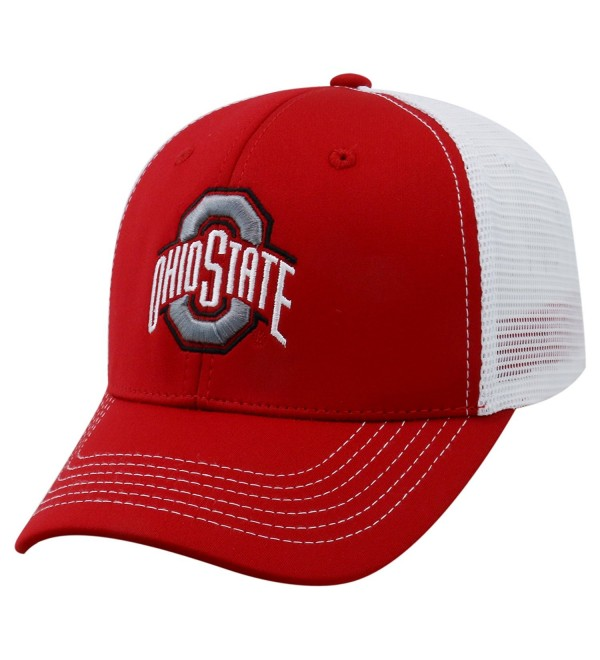 official photos 4b920 62a36 Top of the World NCAA-Ranger Trucker Mesh-Adjustable Snapback Hat Cap - Ohio
