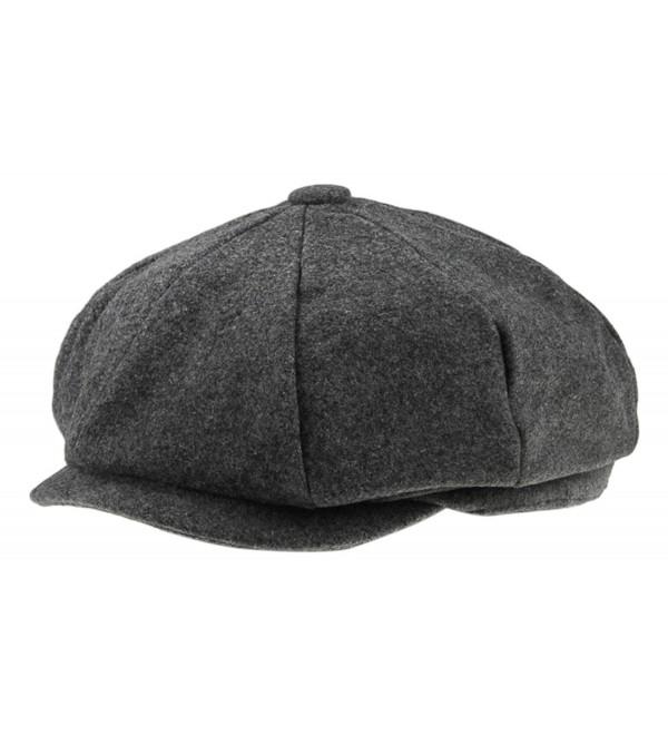 a881e2f74557f Classic 8 Panel Wool Tweed Newsboy Gatsby Ivy Cap Golf Cabbie Driving Hat -  61 -