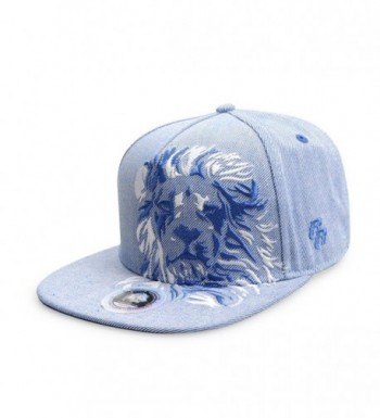 Riorex Baseball Embroidery Adjustable Strapback - Blue - CR189KHS52M