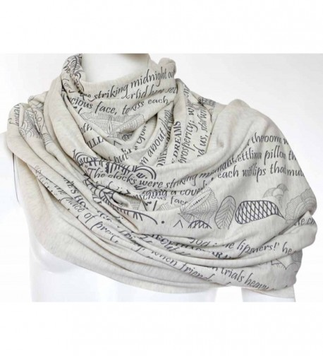 Mothers Tribute Scarf literary quotes