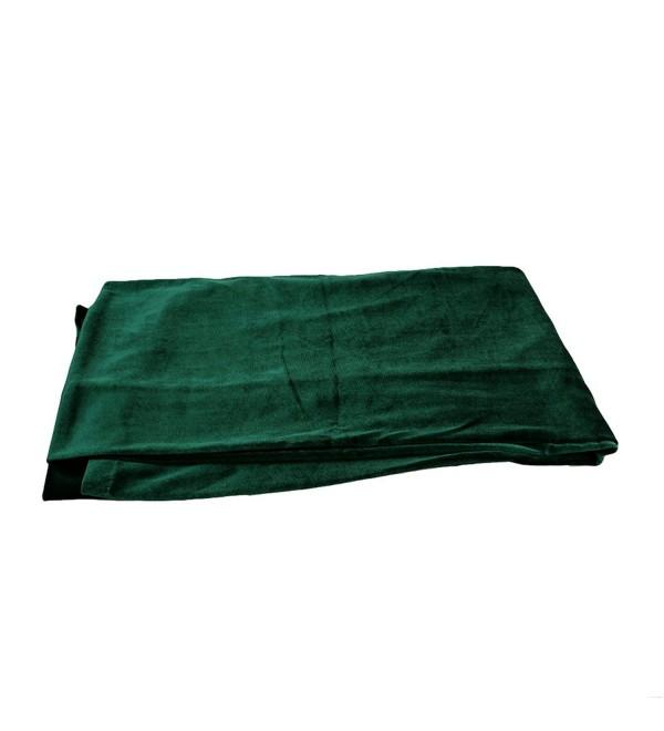CH Women Earwarmers Velvet Headwrap Hair Band Turban Bandana Bandage Head Wrap Long Tube Scarf - Green - CX185Q3289K
