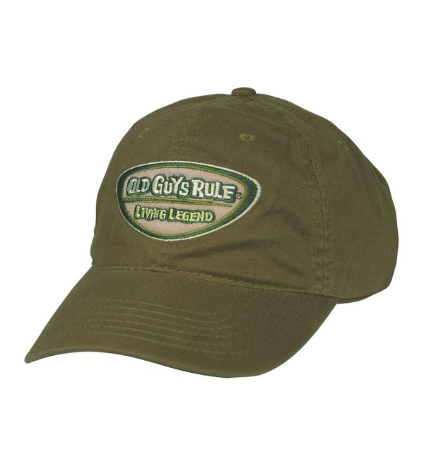 Old Guys Rule Mens a Legend In My Own Mind Hat One Size City Green - CT1271DLZH7
