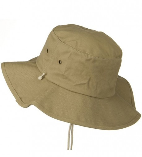 b178b6dff28b36 Big Size Cotton Australian Hat Khaki (For Big Head) CR110J6BAY1