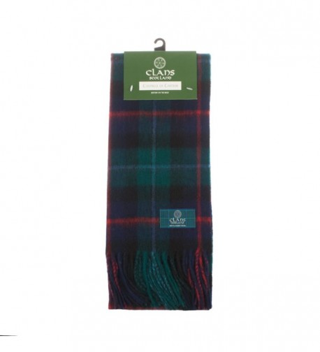 Clans Of Scotland Pure New Wool Scottish Tartan Scarf Campbell Of Cawdor (One Size) - CS123H3A22D