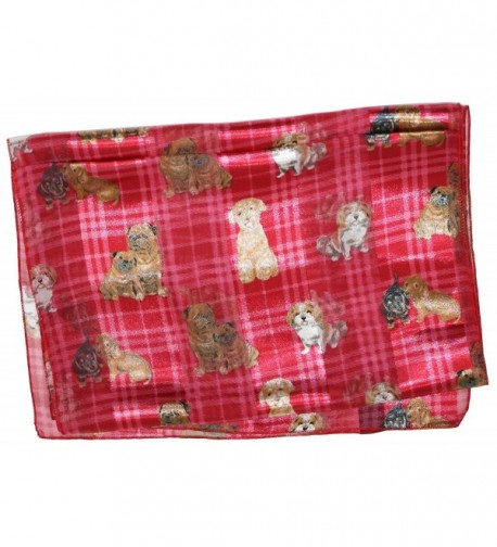 Ted Jack Plaid Print Scarf in Fashion Scarves