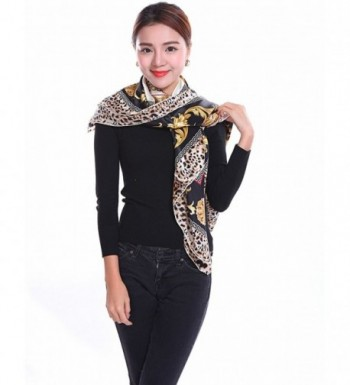 Bear Motion Collection Womens Leopard in Fashion Scarves