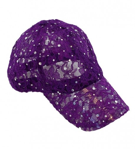 Lace Glitter Sequin Baseball Colors