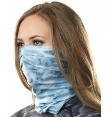 Aqua Design Protection Headwear Scrunchie - Aqua Sky - C212GMBIEHX