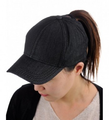 C C Ponycap Ponytail Adjustable Baseball