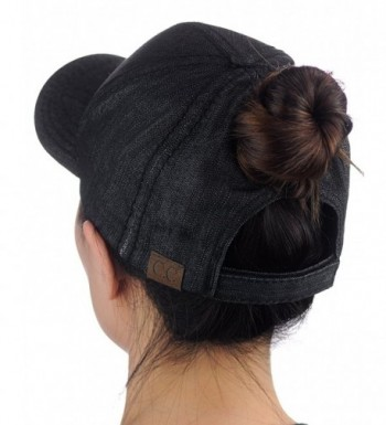 C C Ponycap Ponytail Adjustable Baseball in Women's Baseball Caps