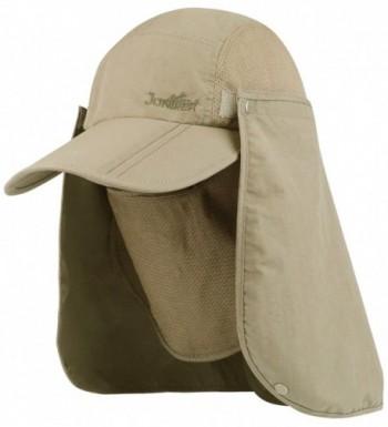 Juniper Taslon UV Folding Bill Cap - Khaki - CF11LV4GYLP