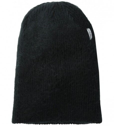 Coal Men's Scotty Unisex Beanie - Black - C011J44WGYX