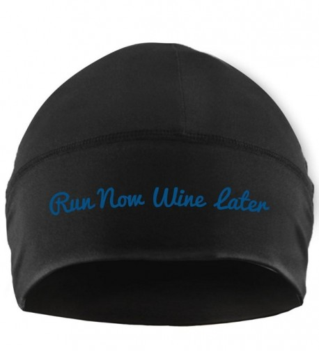 Gone For a Run Run Technology Beanie Performance Hat - Run Now Wine Later - CN12CWOJPUJ