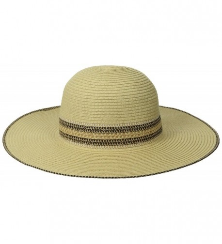 RAMPAGE Women's Multi-Weave Band Sun Hat - Natural - CM11VAM4S0L
