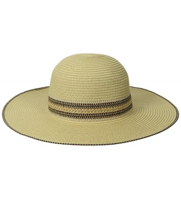 RAMPAGE Women's Multi-Weave Band Sun Hat - Natural - CM11VAM4S0L