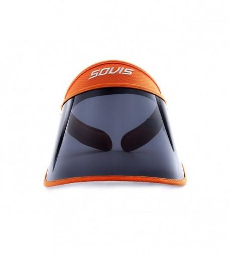 Sovis Orange Extra Length 97.2% & up UV Solar Visor Worldwide Patented - CR116NX1ACB
