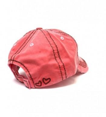 BLESS HEART Patch Baseball Detail in Women's Baseball Caps