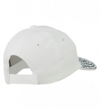 Boss Stones Jewel Cap White in Women's Baseball Caps